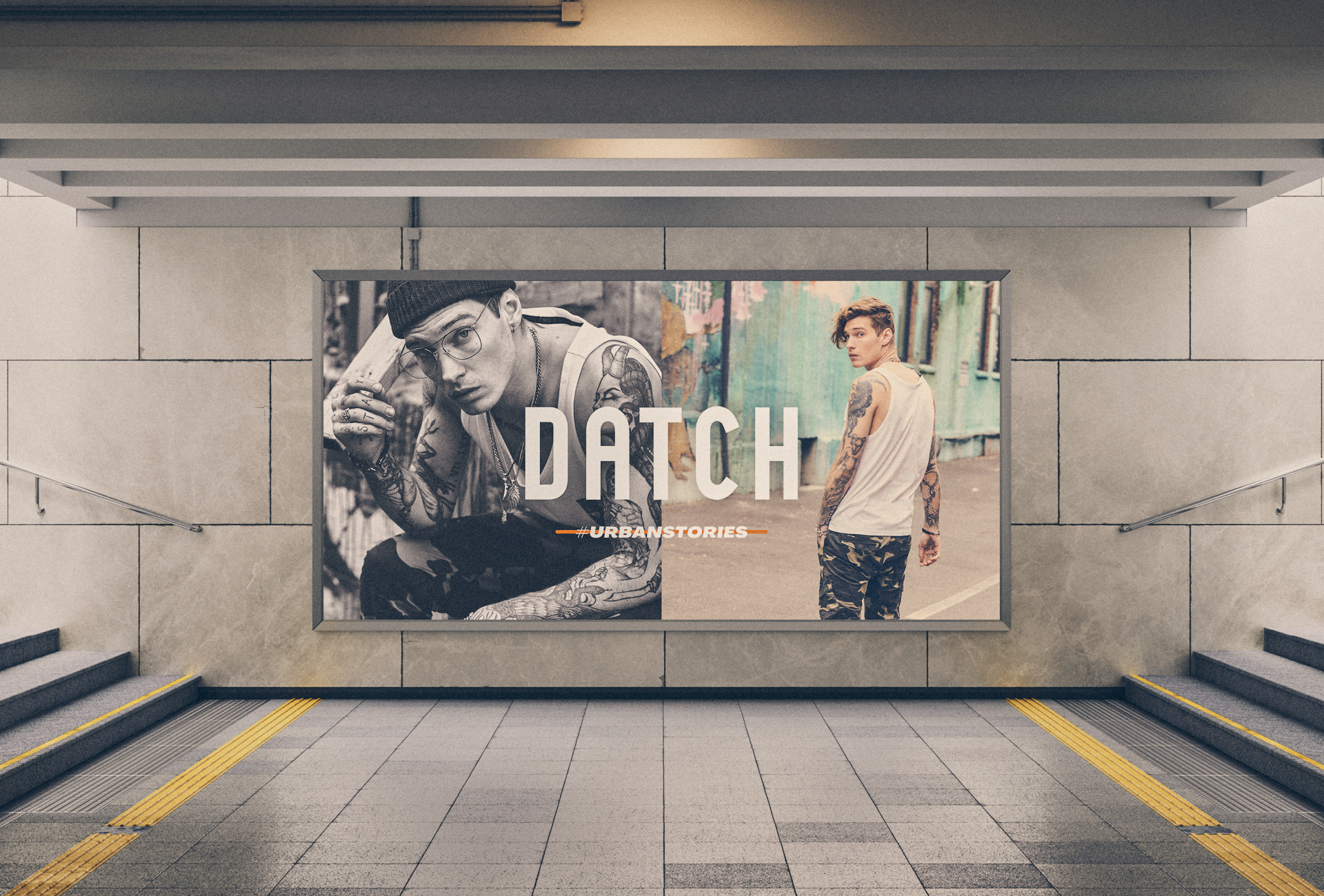 Datch SS20 Outdoor Campaign